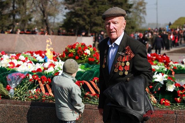День Победы-2014 в Иркутске
