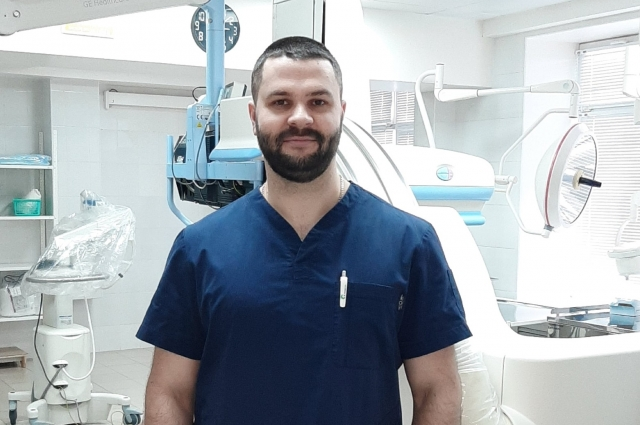 Рентгенэндоваскулярный хирург ОКБ №2 Александр Коротких.