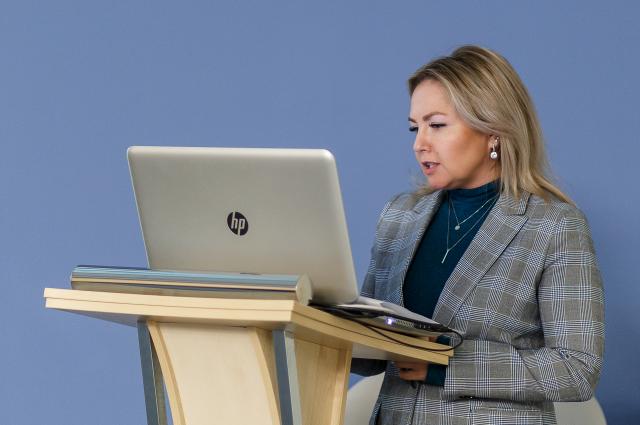 Директор департамента развития «Сибинтел-Холдинга» Ирина Кирилова.