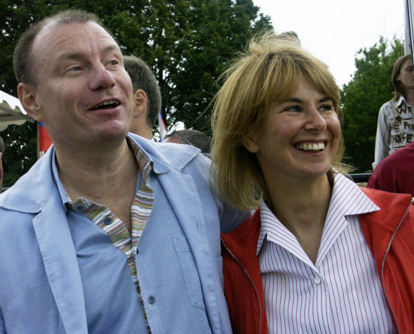 Владимир Потанин и его бывшая жена Наталья Потанина