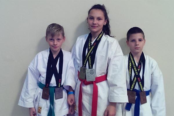 Лиза, Антон и Вадим.