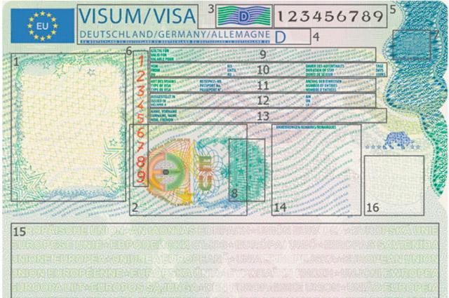 новый формат шенгенской визы