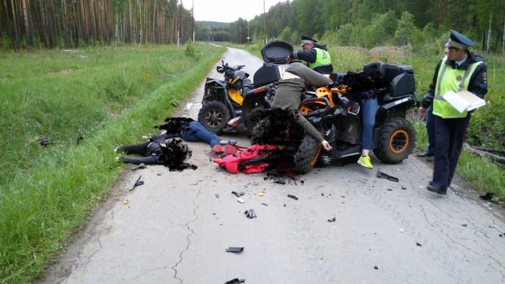 Авария по дороге в Луч, Верхняя Сысерть