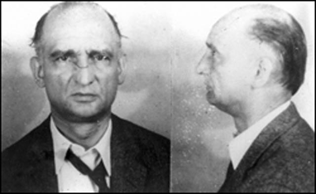 Рудольф Абель в 1957 году. Фото ФБР.