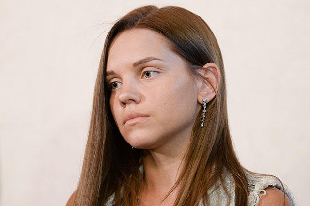 Бывшая гражданская супруга футболиста Александра Кержакова Екатерина Сафронова.