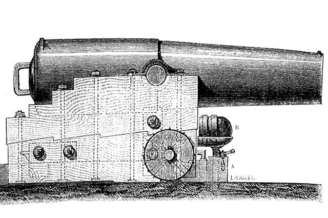 Бомбическая пушка Пексана.
