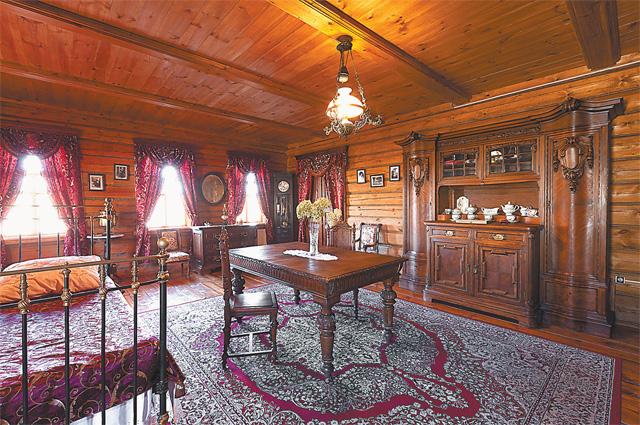 Дом деда был выкуплен с аукциона и полностью восстановлен