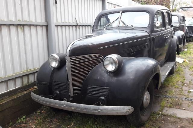 Chevrolet 1939 года выпуска.