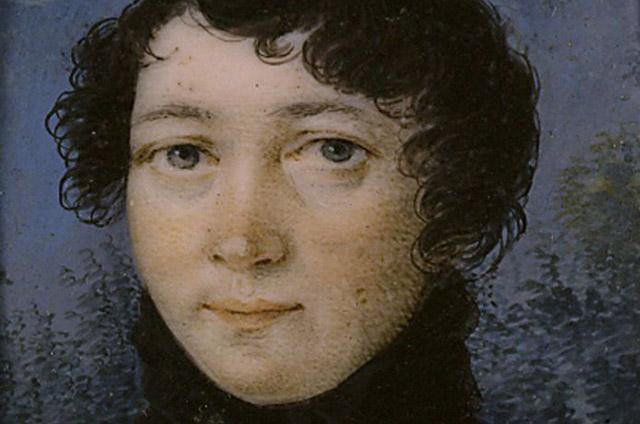 Варвара Лутовинова в 1810-е годы.