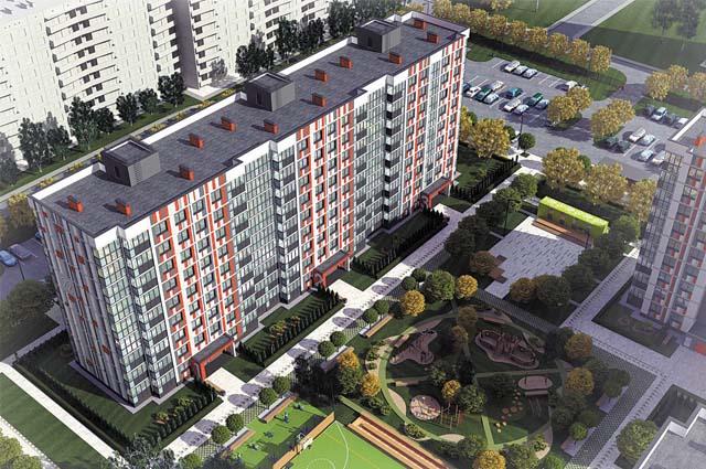 Калийная компания возводит дома для своих сотрудников в Березниках и Соликамске.
