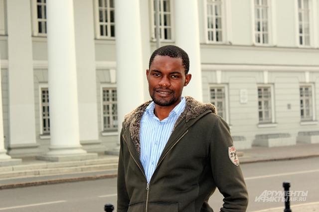 В Казани африканец учится шесть лет