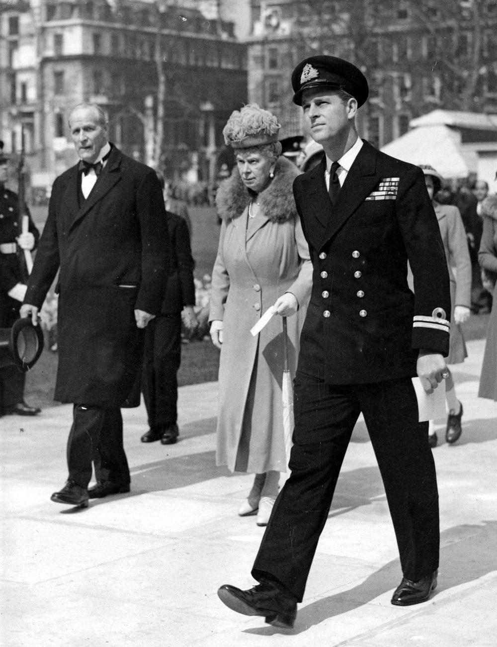 Герцог Эдинбургский (будущий принц Филипп), 1948 год