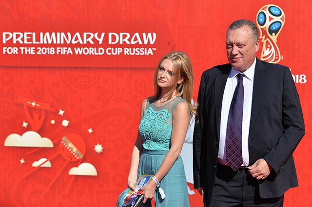 Вадим Тюльпанов с дочерью Миланой.