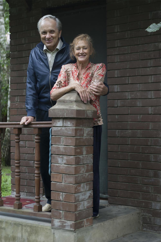 Евгений Стеблов с женой Татьяной.