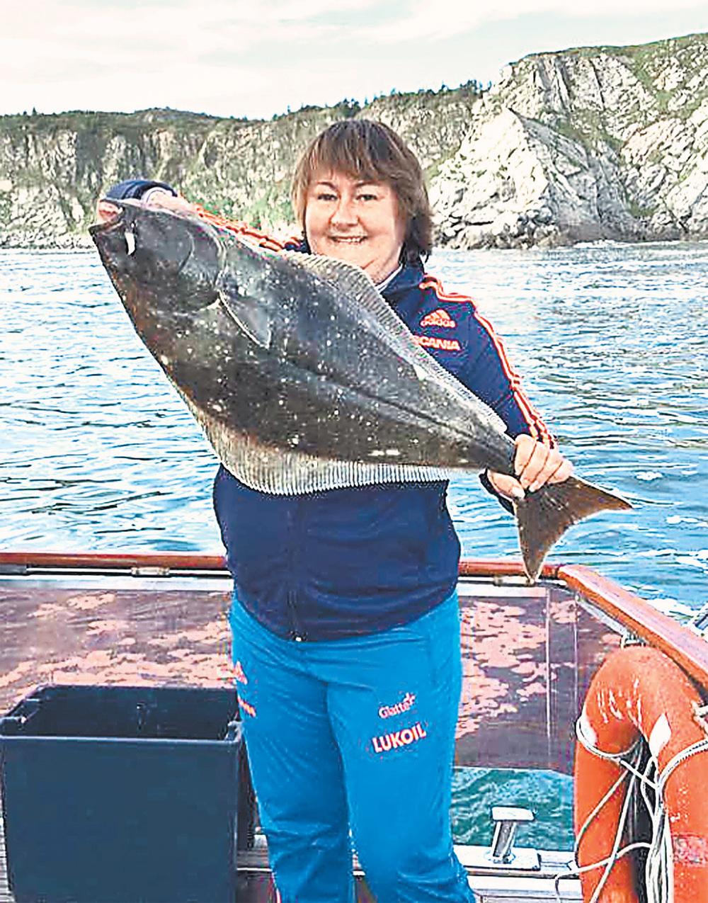 Магаданская рыбалка.