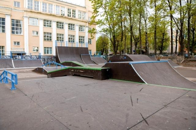 Новый скейт-парк стал масштабнее, интереснее, безопаснее.
