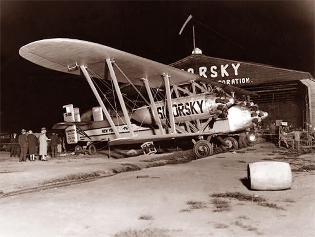 Sikorsky-Flugzeug S-35, 1926