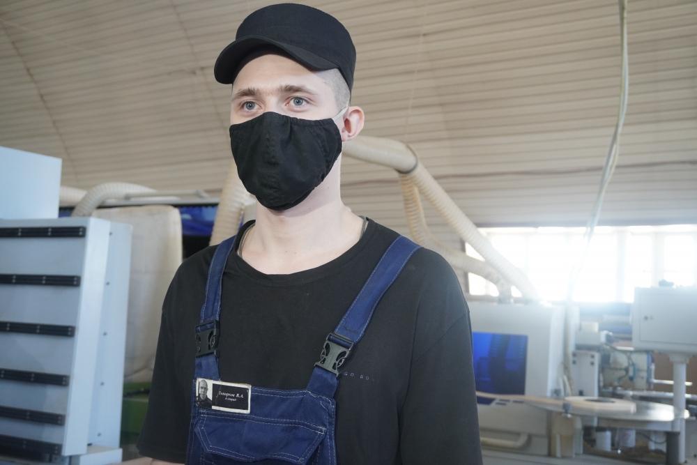 Осуждённый Александр Топорков убеждён, что работать нужно в любой жизненной ситуации.