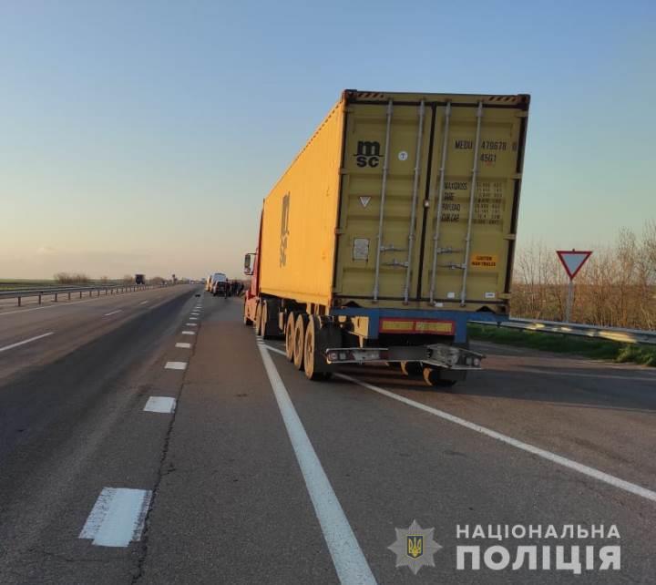 Авария в Одесской области.