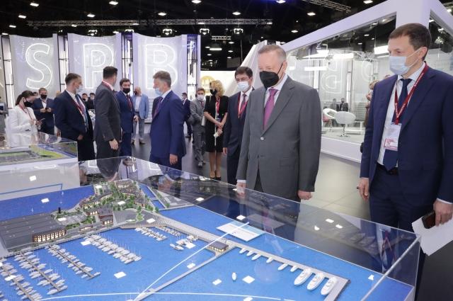 Экспозиция включает 50 инвестиционных проектов.