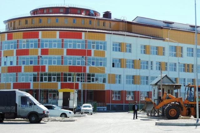 Школа №4 в Ханты-Мансийске