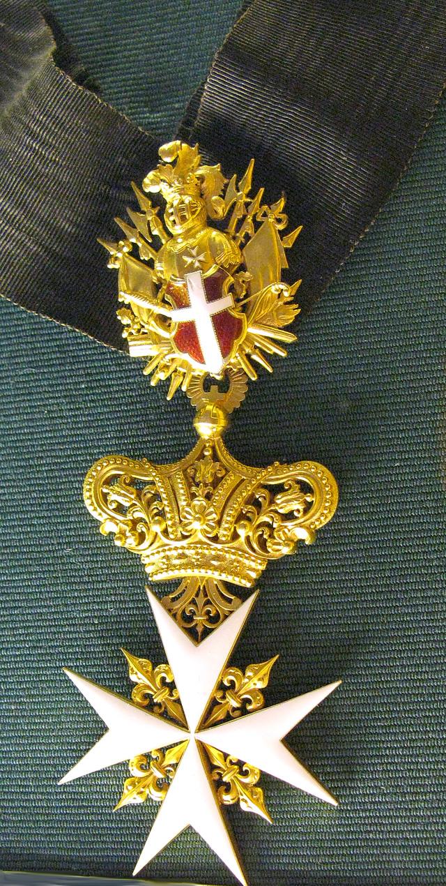 Командорский крест ордена Св. Иоанна Иерусалимского