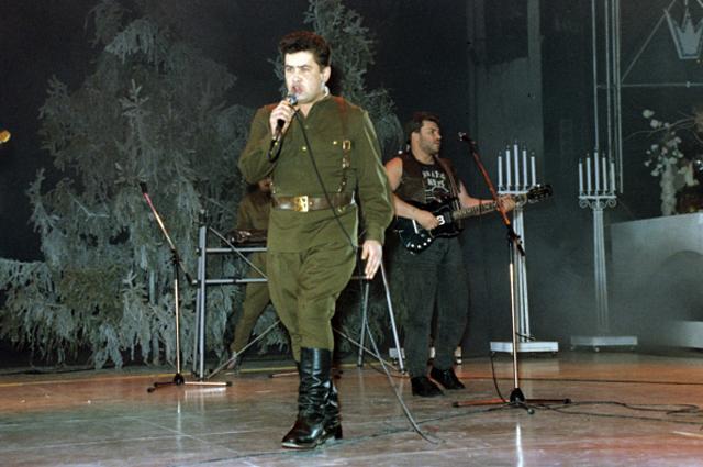 «Любэ» во Дворце спорта «Лужники», 1991 год