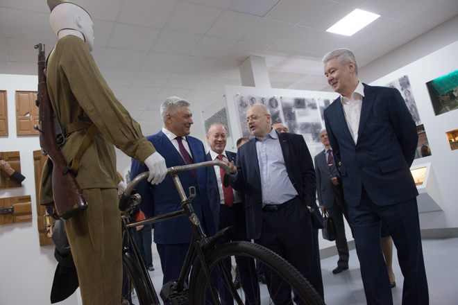 Осмотр музея Московского уголовного розыска и ДНК-лаборатории ГУ МВД России по городу Москве