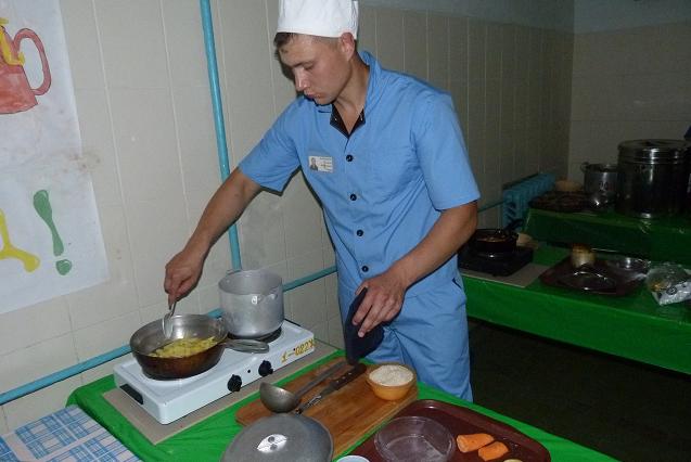 Конкурс поварского искусства в пензенской исправительной  колонии.