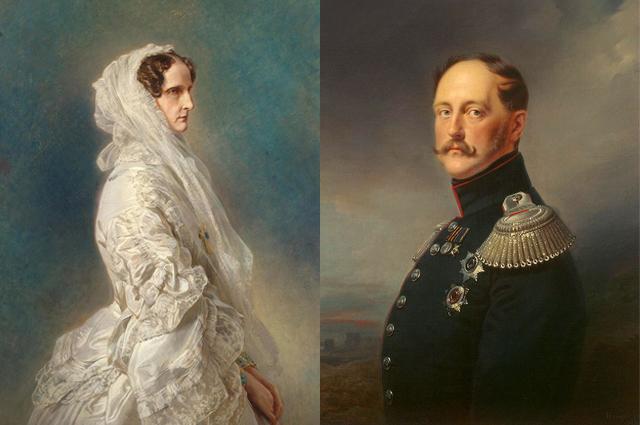 Николай I и Александра Федоровна