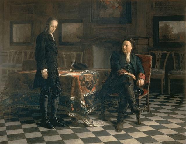 В настоящее время одна картина хранится в Третьяковской галереи, другая находится в собрании Русского музея.