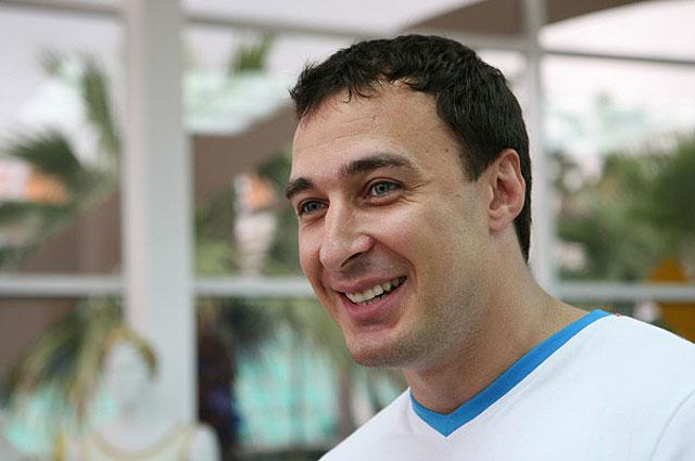 Бобслеист Алексей Воевода на церемонии открытия Музея спортивной славы