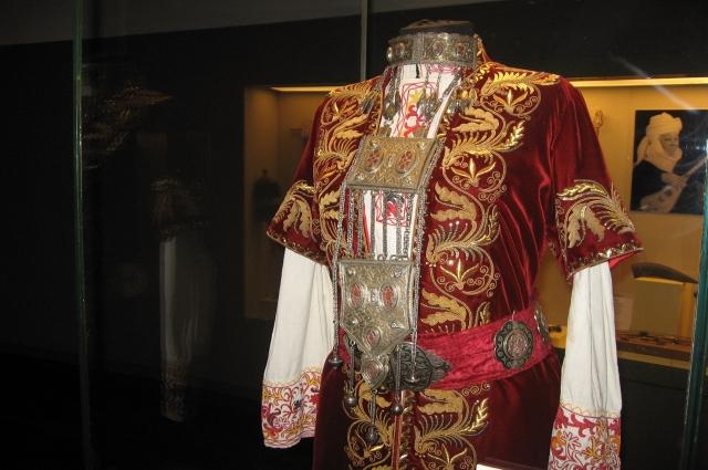Платье ханши Фатимы.