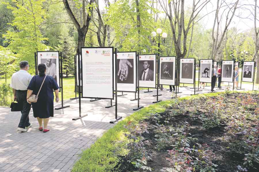 Выставка предназначалась прежде всего для молодёжи.