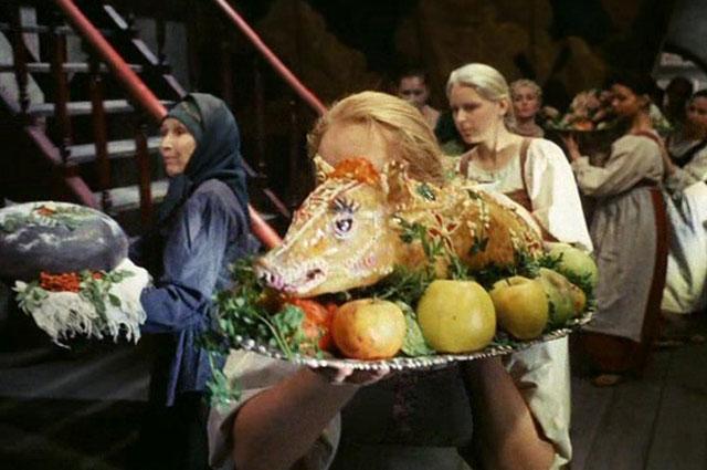 Кадр из фильма «Сказ про то, как царь Петр арапа женил», 1976 г.