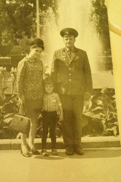 Мартин Петрович с семьей.