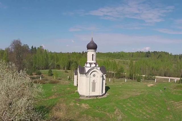 Церковь в Кукуево напоминает знаменитые Покрова на Нерли