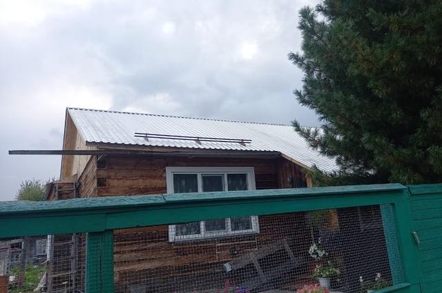 Дом, который отремонтировали.