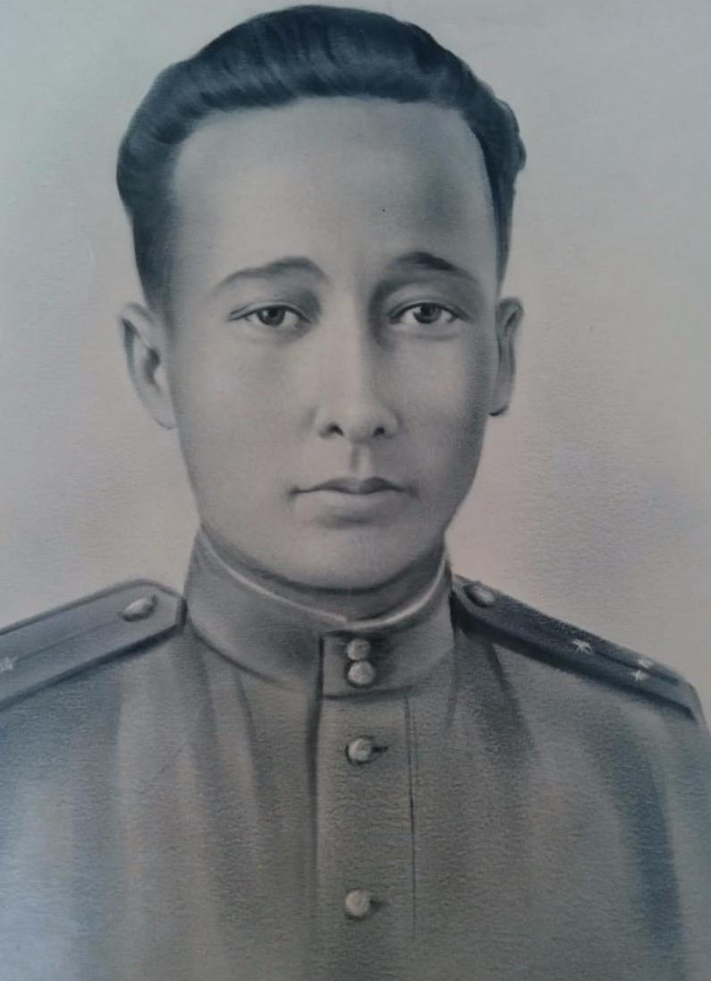 Токтарбек Еребеков наВеликой Отечественной войне.