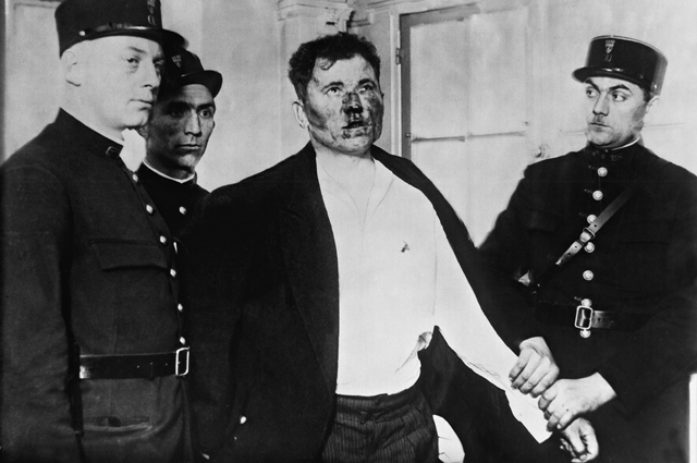 Павел Горгулов после ареста.