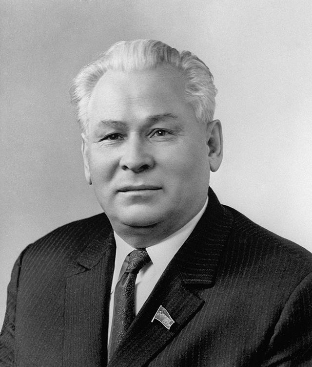 Константин Черненко, 1976 год.