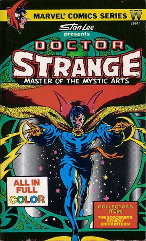 Обложка комикса «Доктор Стрэндж» 1978 года.
