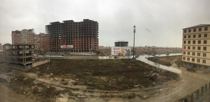 В Дагестане активно идёт возведение жилых домов.