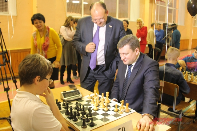 Шахматный турнир среди школьников