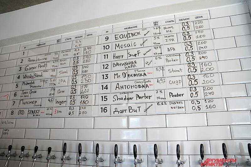 Пермяк привозит в Пермь десятки сортов необычного пива.