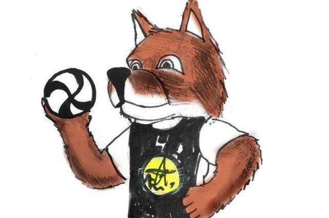 Ещё один из предложенных вариантов маскотов - красный волк, он также водится в сибирских лесах и степях. Он такой же хитрый и коварный, как лисица, такой же храбрый и свирепый, как волк.