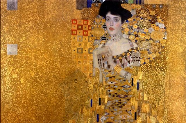 Другое название портрета - «Золотая Адель».