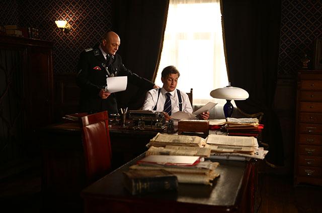 Кадр из сериала «Зорге».