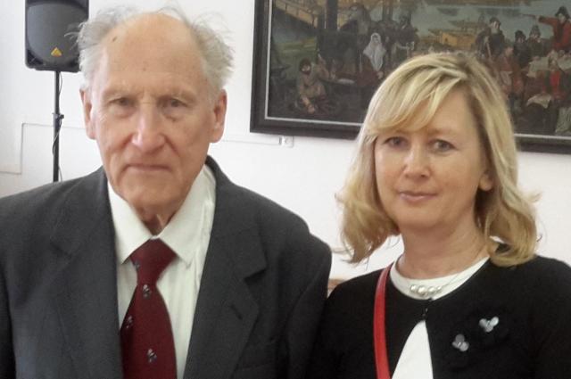 Кирилл Леонидович с дочерью Натальей.