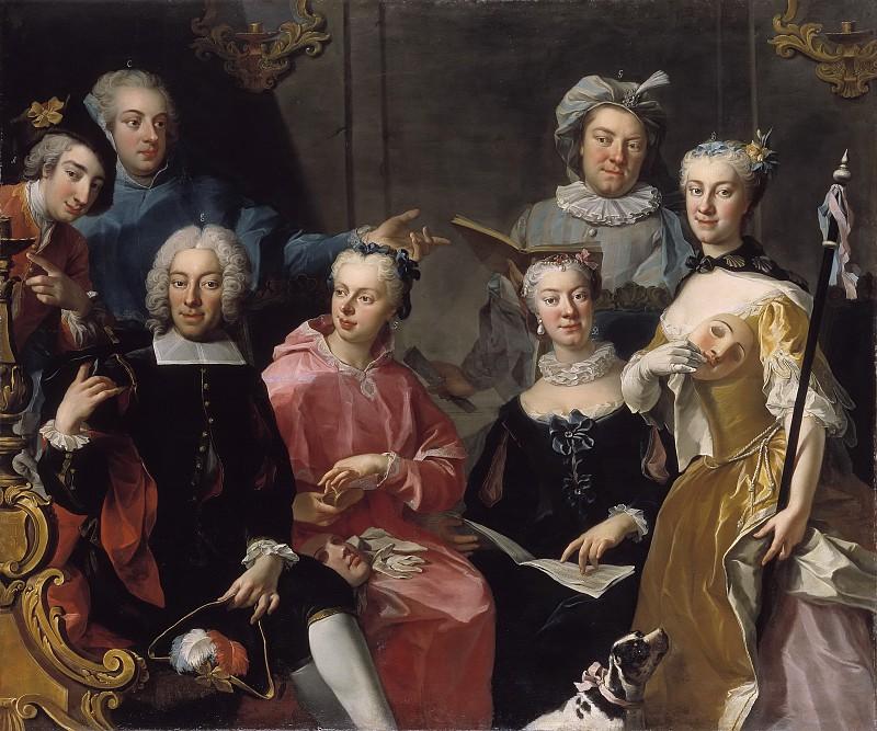 Мартин ван Майтенс, Семейный портрет,